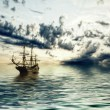 Ships in sea — Stock Photo #47759837