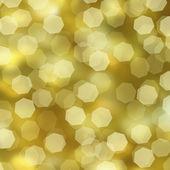 Bokeh golden background — Stock Photo