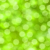 Bokeh green background — Stock Photo