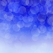 Bokeh blue background — Stock Photo