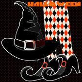 Animations for Halloween night — Stockvektor