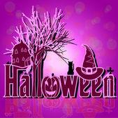 Decoration for hallowen night — Stock Vector