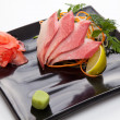 Sashimi of tuna — Stock Photo