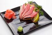 Sashimi of tuna — Stock Photo