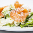 Freshness salmon salad — Stock Photo