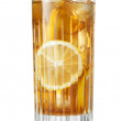Glass of iced tea — Stock Photo