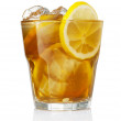 Glass of iced tea — Foto de Stock
