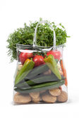 Shopping Bag With Vegetables — Stock Photo
