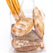 Bag With Bread — Stock Photo