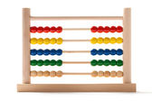 Abacus - Fifty-Fifty — Stock Photo