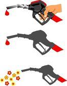 Biological fuel — Stock Vector