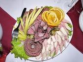 Dish of ham — Zdjęcie stockowe