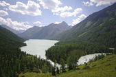 Kucherlinskoe lake, Altay, Russia — Stock Photo