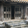 Stock Photo: House in Tu Duc Tomb. Hue, vietnam.