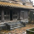 House in Tu Duc Tomb. Hue, Vietnam. - Stock Photo