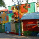 Street La Boca - Caminito, Buenos Aires, Argentina. — Stock Photo #19561753