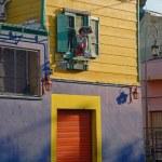 Street La Boca - Caminito, Buenos Aires, Argentina. — Stock Photo #19561763
