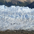 Trekking on a glacier Perito Moreno — Stock Photo