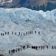 Trekking on the Perito Moreno glacier, Argentina. — Stock Photo #19565085
