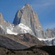 Mount Fitz Roy from El Chalten. Pataginia, Argentina. — Stock Photo