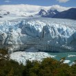 Stock Photo: The Perito Moreno Glacier in Patagonia, Argentina.