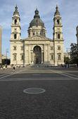 Saint Stephen's Basilica in Budapest. Hungary — Stock Photo