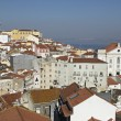 Alfama urban district panorama of Lisbon, Portugal. — Stock Photo #21685331