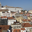 Alfama urban district panorama of Lisbon, Portugal. — Stock Photo #21685343