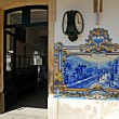 A Railway Station in the central wine Douro Region. - Stok fotoğraf