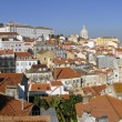 Alfama urban district panorama of Lisbon, Portugal. — Stock Photo