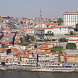 Panorama of  Porto city, Portugal. - Foto Stock