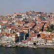 Panorama of Porto with river Duoro, Portugal. - Foto Stock