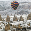 Hot Air Ballons flying on the sky of Cappadocia. — Stock Photo #21687249