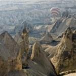Hot Air Ballons flying on the sky of Cappadocia.Turkey. — Stock Photo #21687729