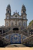The Church of Nossa Senhora dos Remedios. Town Lamego, Portugal — Stock Photo