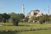 Famous Church of Saint Sophia in Istambul — Stock Photo