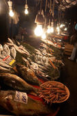 Fish market at Stambul, Turkey. — Stock Photo