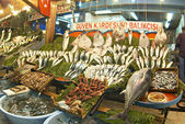 Fish market in Instanbul, Turkey. — Stock Photo