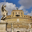 Castel Sant'Angelo in Rome, Italy. — Stock Photo