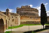 Schloss st. angelo in rom, italien. — Stockfoto