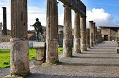 View of Pompeii ruins. Italy. — Stock Photo