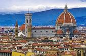 佛罗伦萨大教堂。意大利 — 图库照片
