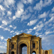 Hadrian's Arch, Jerash, Jordan. — Stock Photo