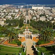 The Bahai Gardens. Haifa, Israel. — Stock Photo