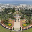 View of Haifa with the Bahai Gardens. Israel. — Stock Photo
