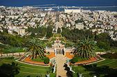 The Bahai Gardens. Haifa, Israel. — Stock Photo