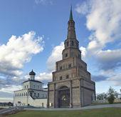Suumbike, Πύργος. σύμβολο του Ταταρστάν, Ρωσική Ομοσπονδία. — Φωτογραφία Αρχείου