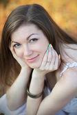 Portrait of a pretty girl — Stock Photo