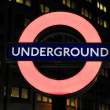 London underground sign — Stock Photo #19094319