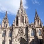 La Catedral de la Santa Cruz y Santa Eulalia — Stock Photo #19540361